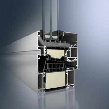 okna aluminiowe poznań schuco aws90SI